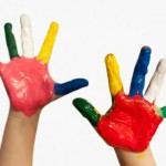 peinture mains
